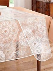 Tischdecke 'Ornament' glasklar Peyer-Syntex klar