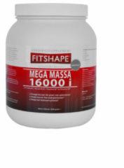 Fitshape Mega Massa Chocolade - 1200 gram - Eiwitshake