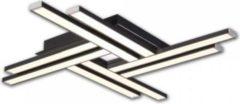 KIOM LED Deckenleuchte Tyra C4 60x60cm 39W 4000K black 10722