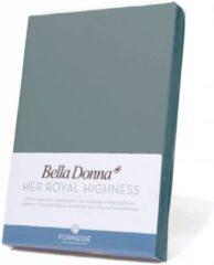 Bella Donna Hoeslaken Jersey - 140x200-160x220 - donkerrood
