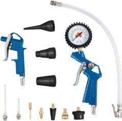Scheppach Luchtpistool set 13-delig - Compressor accessoirekit - 7906100710