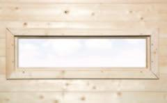 Hillhout WEKA | Extra enkel raam smal | 40x125 cm