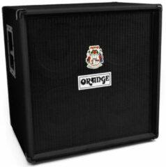 Orange OBC410 BLK 4x10 inch 600 Watt basgitaar speakerkast zwart
