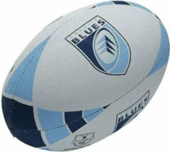Blauwe Gilbert Supporter Ball Cardiff Blues - Maat 5