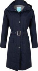 HappYRainyDays Donkerblauwe dames regenjas (Long Coat) Madonna van Happy Rainy Days XXL
