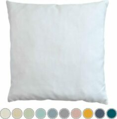 Witte Sierkussens tuin: Qush Royal Sunbrella White | Vlekbestendig | Wasmachine | Waterbestendig | Kleurvast | Schimmelwerend l Babyproof | Wasbaar | sierkussens | werpkussens buiten
