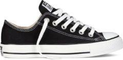 Zwarte Converse Chuck Taylor All Star Sneakers Laag Unisex - Black - Maat 38