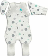 Love to Dream Stage 2 Swaddle UP Transition Suit babyslaapzak LITE Large wit