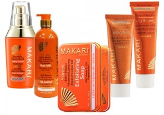 Afbeelding van Makari Extreme Totaalpakket om de huid te bleken