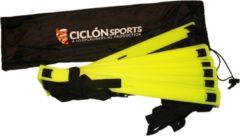 Gele Ciclón Sports Loopladder 6 meter - Speedladder - Agility ladder met verstelbare treden