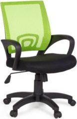 Amstyle Amstyle Bürostuhl RIVOLI Lime Schreibtischstuhl mit Armlehne Bürodrehstuhl Jugendstuhl