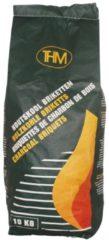 Groene THM Houtskoolbriketten - 10 kg - Onbreekbare zak