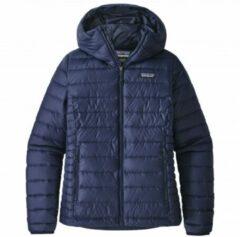 Patagonia - Women's Down Sweater Hoody - Donzen jack maat XS, blauw/zwart