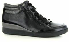 Zwarte Ara hoge veterschoenen »LAZIO«