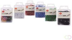 Papierklem LPC Paperclip LPC 28mm 100stuks assorti