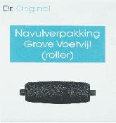 Dr Original Navulverpakking grove voetvijl (roller) 1 Stuks
