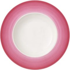 Roze Villeroy & Boch Colourful Life Berry Fantasy Diep bord/Pastabord