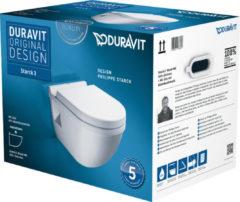 Duravit Starck 3 combipack toiletset wit