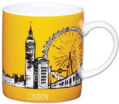 Creme witte Espresso Kopje - London - 80ml - Kitchencraft