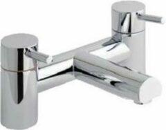 Badkamerkraan dubbel opbouw chroom - Prado 500 Eastbrook