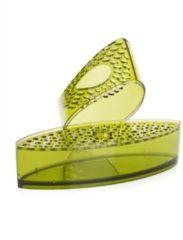 "Velou® Design Deko-Vase ""Venezia""; 4tlg. - Transparent"