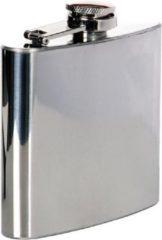 Zilveren Fosco Zakflacon (platvink) 5 ounce chroom
