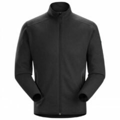 Zwarte Arc'teryx Covert Cardigan Heren, black heather Maat S