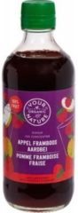 Your Organic Nat Diksap appel framboos aardbei 400 Milliliter