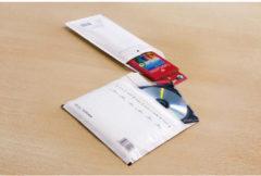 Luchtkussenenvelop Raadhuis 180x165mm CD wit plakstrip krimp a 5 stuks