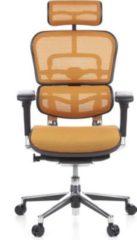 Hjh OFFICE Luxus Chefsessel ERGOHUMAN mit Armlehnen (höhenverstellbar)