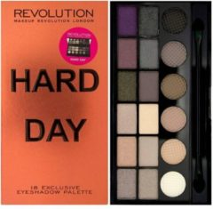 Makeup Revolution London Makeup Revolution Salvation - Hard Day - Oogschaduw Palet