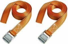 Oranje MasterLock 3210EURTAT - 2x Spanband / Bagageriem - 2,5mx25mm