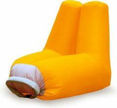 Balvi - Opblaasbare Strandstoel Cloud - Oranje - Polyester - 82x72x82 cm