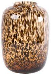 Bruine Vase The World Cheetah vaas Artic | Small
