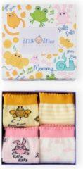 BiggDesign Milk&Moo Arı Vız Vız ile Çançin 4'lü Anne Çorabı