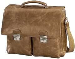Hama Laptoptas Toni Mailand Geschikt voor maximaal (inch): 39,6 cm (15,6) Bruin