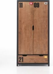 Vipack Furniture Vipack Kleiderschrank 2-trg. Alex Kiefer gebürstet