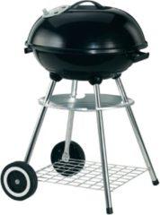 Zwarte Garden Grill Kogelgrill houtskool barbecue - rond - 47 cm - zwart