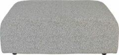 Zwarte Zuiver Breeze Outdoor Hocker - B90 X D118 X H43 Cm - Grijs