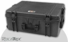 Rocabox - Universele trolley koffer - Waterdicht IP67 - Zwart - RW-6246-25-BFTR - Plukschuim
