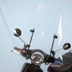 Windscherm hoog model helder , AGM VX50, Turbho RL50, Vom Venice, Senzo Rivalux, Btc Riva,Berini Napoli, Iva Luxe-Scoot Care Original.
