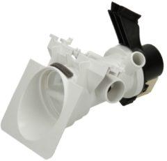 Whirlpool Ablaufpumpe mit Pumpenstutzen und Filter (Magnettechnikpumpe, 34 Watt) für Waschmaschinen 481231028144