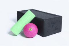 Blackroll Block set incl. groene Mini en roze Bal 8 cm