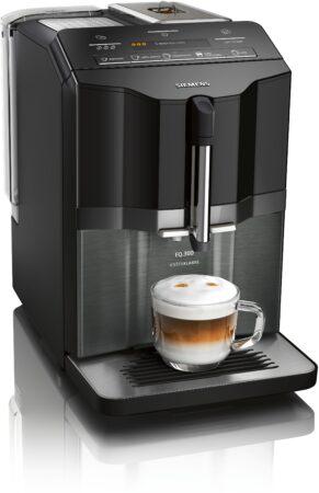 Afbeelding van Zwarte Siemens TI355F09DE koffiezetapparaat Espressomachine 1,4 l Volledig automatisch