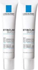 La Roche-Posay Effaclar DUO[+] dagcrème - 2x40ml - vette, acne huid