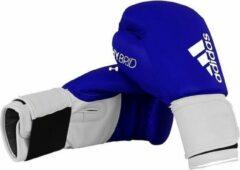 Adidas Bokshandschoenen Hybrid Leer Maat 8oz Blauw