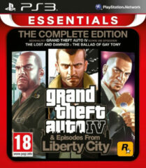 Take Two Grand Theft Auto Complete (Iv + Episodes From Liberty City) (EU) (PS3)