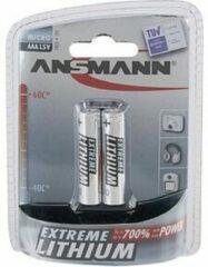 AAA batterij (potlood) Ansmann Extreme Lithium 1150 mAh 1.5 V 2 stuk(s)
