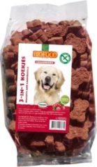 Biofood 3-In-1 Koekjes - Hondensnacks - Cranberry Vlees 500 g