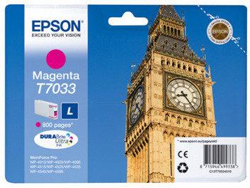 Afbeelding van Epson WP4000/4500 Series Ink Cartridge L Magenta 0.8k (C13T70334010)